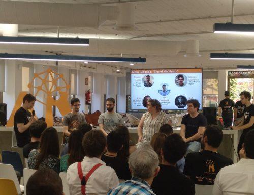 Iñaki Úcar, miembro de IBiDat, participa en la mesa redonda sobre AI y ética en el AI Saturdays Madrid Demo Day