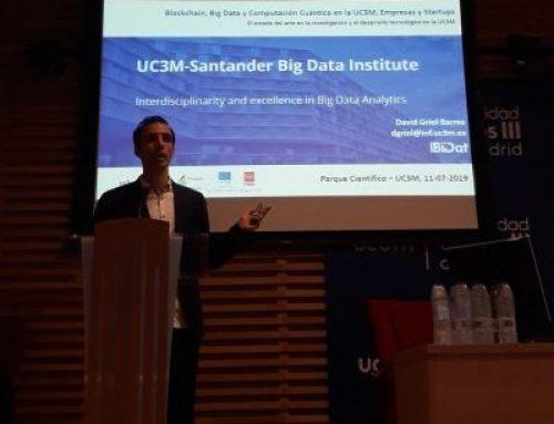 """David Griol, secretario de IBiDat, participa en  la jornada """"Blockchain, Big Data y Computación Cuántica en la UC3M, Empresas y Startups"""""""