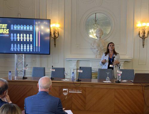 """Rosa E. Lillo, Directora de IBiDat, ponente invitada en el """"XIX Encuentro de la Industria Farmacéutica Española"""""""