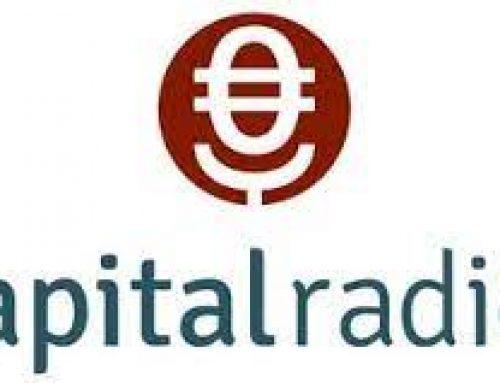 Entrevista a Rosa E. Lillo y Rubén Cuevas en Capital Radio